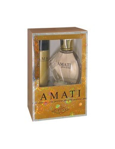 Caseta Amati Precious EDP 100 ml + Deo Spray 75 ml - Evaflor