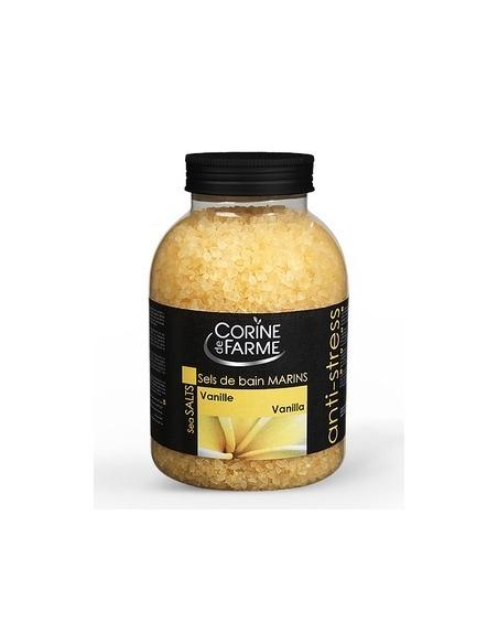 Sare de baie anti-stres cu VANILIE 1.3 kg - Corine de Farme