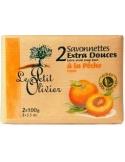 Le Petit Olivier - Sapun cu Piersica 2 x 100 g