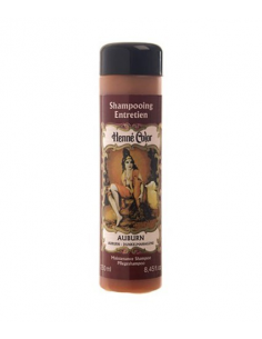 "Henne Color - Sampon de intretinere cu hena AUBURN ""RUGINIU"" 250 ml"