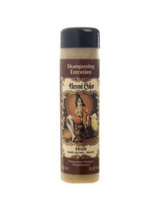 "Henne Color - Sampon de intretinere cu hena BRUN ""MARO INCHIS"" 250 ml"