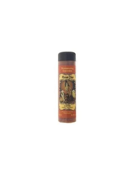 "CUIVRE - Sampon de intretinere cu hena ""ARAMIU"" 250 ml - Henne Color"