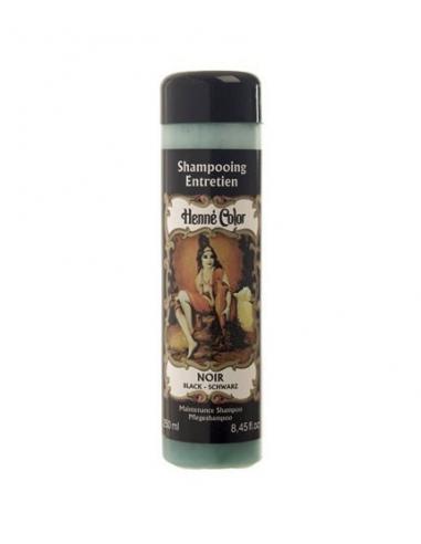 "Henne Color - Sampon de intretinere cu hena NOIR ""NEGRU"" 250 ml"