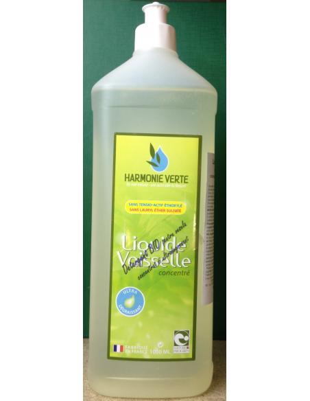 Detergent lichid BIO pentru vase 1000 ml - Harmonie Verte