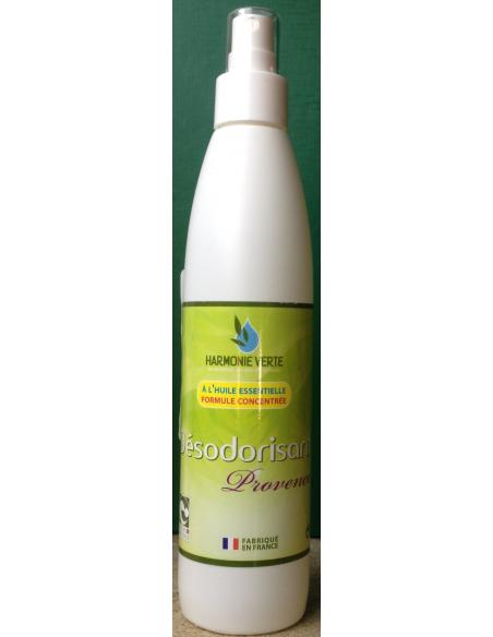 Odorizant BIO Provence pentru casa si masina cu vaporizator 250 ml - Harmonie Verte