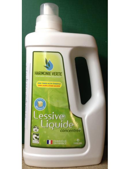 Detergent lichid BIO concentrat pentru rufe 1500 ML - Harmonie Verte