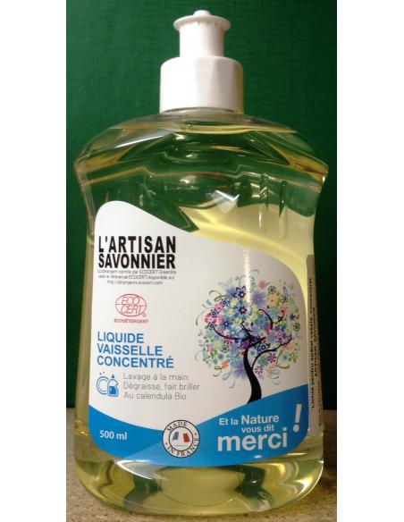 Detergent lichid ECO pentru vase 500 ml - Artisan Savonier