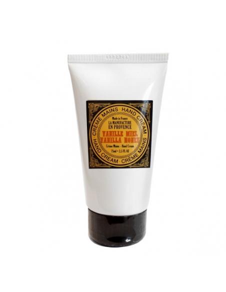 Crema organica de maini cu miere si vanilie 75 ml - La Manufacture en Provance