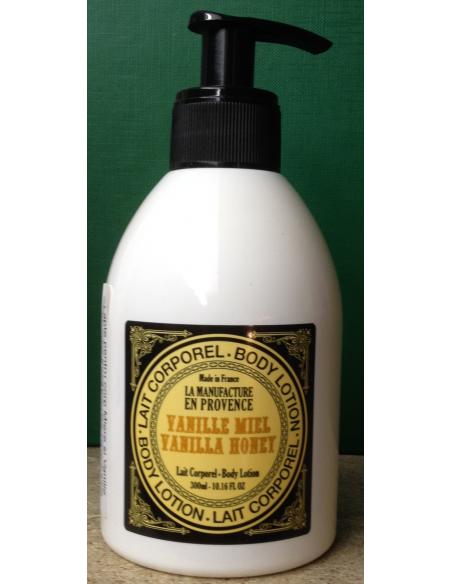 Lapte de corp organic cu Miere si Vanilie 300 ml - La Manufacture en Provance