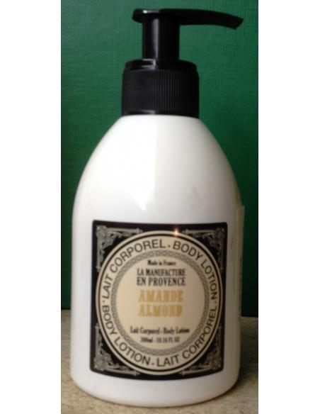 Lapte de corp organic cu Amanda 300 ml - La Manufacture en Provance