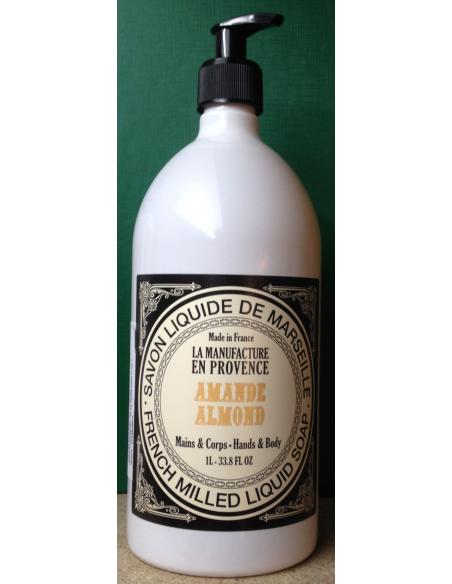 Sapun lichid cu Ulei de Migdale BIO de Marsilia 500 ml La Manufacture en Provance