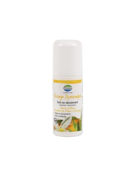 Roll-On deodorant cu piatra de Alaun si flori de portocal BIO 50 ml - OSMA Lab.