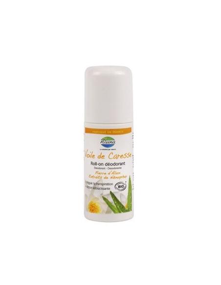 Roll-On deodorant cu piatra de Alaun si Nufar 50 ml - OSMA Lab.