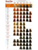 """ROSU BORDEAUX""- Crema colorata cu hena BORDEAUX 90 ml - Henne Color"
