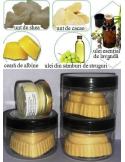 Crema naturala solida cu lavanda pentru corp 80 g - Gestul Natural