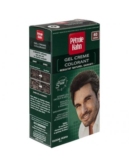 nr. 40 (castaniu) - Crema coloranta pentru par ( fara amoniac )- Petrole Hahn