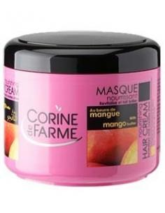 Masca de par reparatoare cu unt de mango 500 ml - Corine de Farme