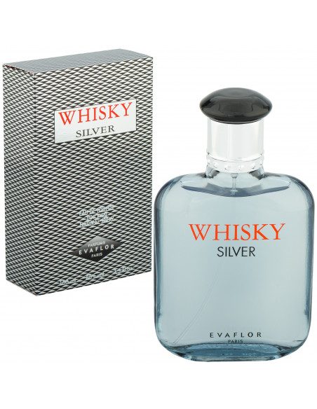 Whisky Silver EDT 100 ml - Evaflor