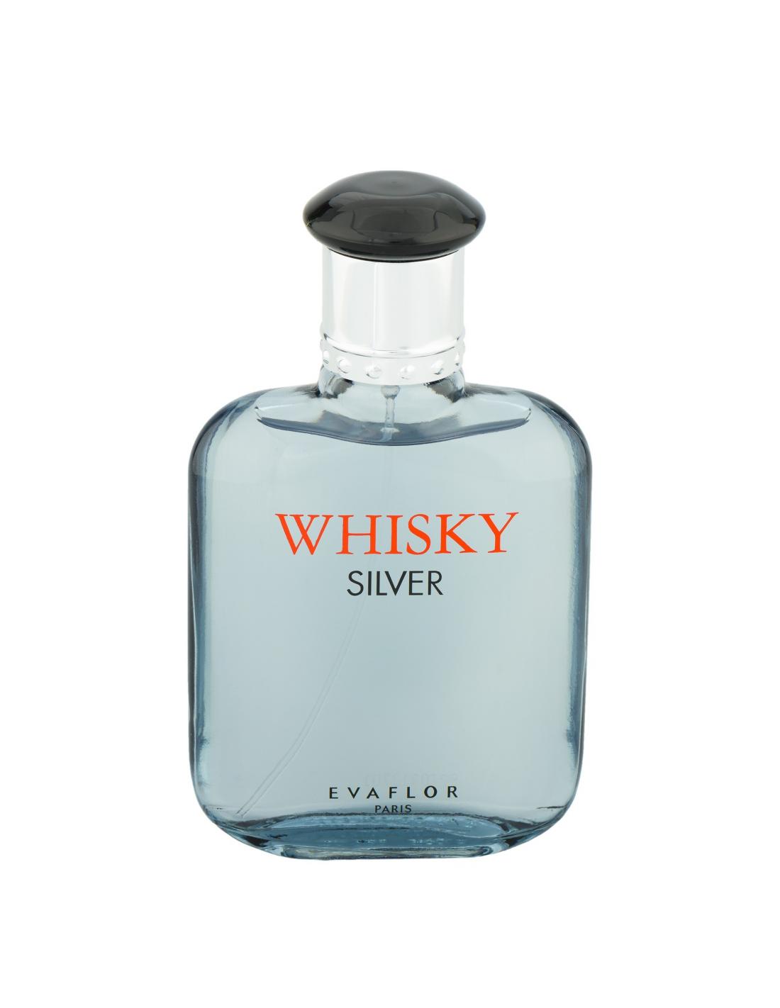 Whisky Silver Edt 100 Ml Evaflor