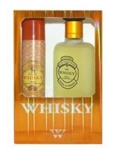 Caseta Whisky EDT 100 ml + Deo Spray 75 ml - Evaflor